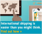 International shipping is easier than you might think