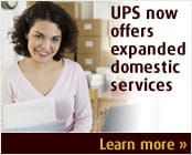UPS now offers expanded domestic services