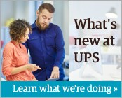 Learn what's new at UPS