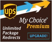 UPS My Choice Premium - unlimited package redirects
