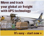 Move your air freight with UPS