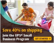 Save up to 40% on your small business shipping
