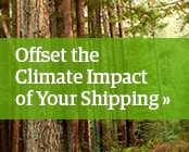 Offset the Climate Impact of Your Shipping