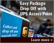 Easy Package Drop Off with UPS Access Point